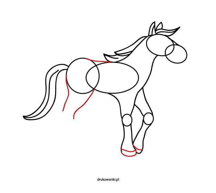 sam narysuj konia