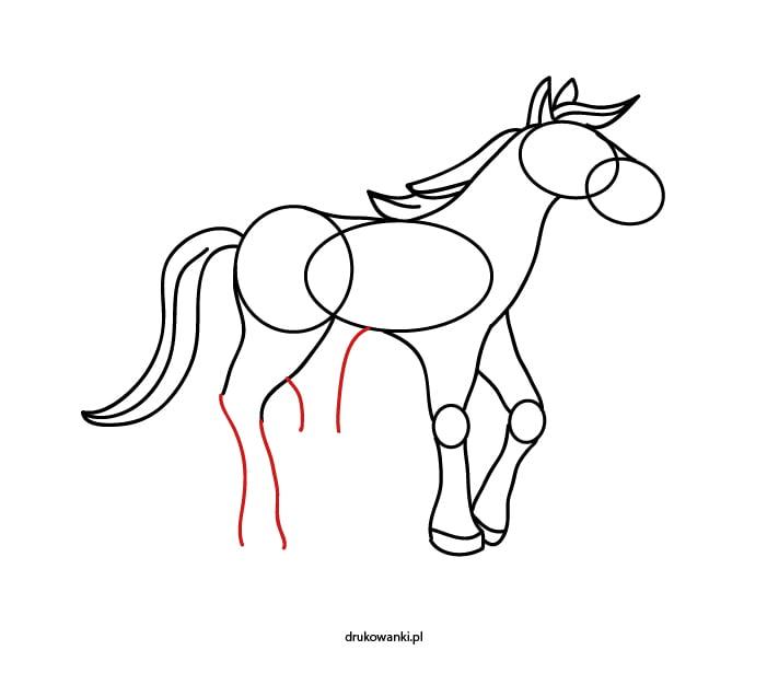 chcę nauczyć się rysować konia