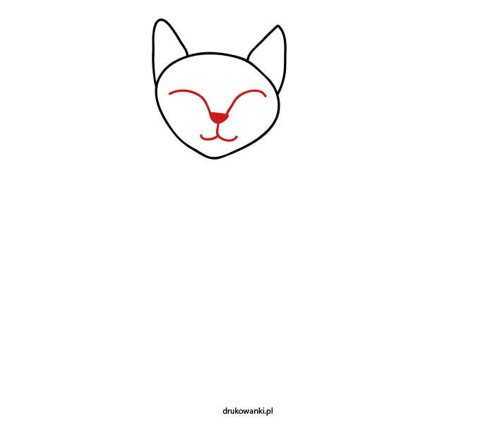 nauka rysowania kota