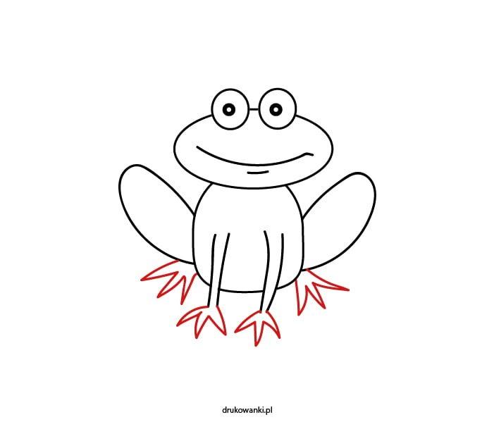 rysunek żabki