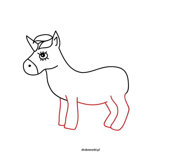 jak narysować jednorożca