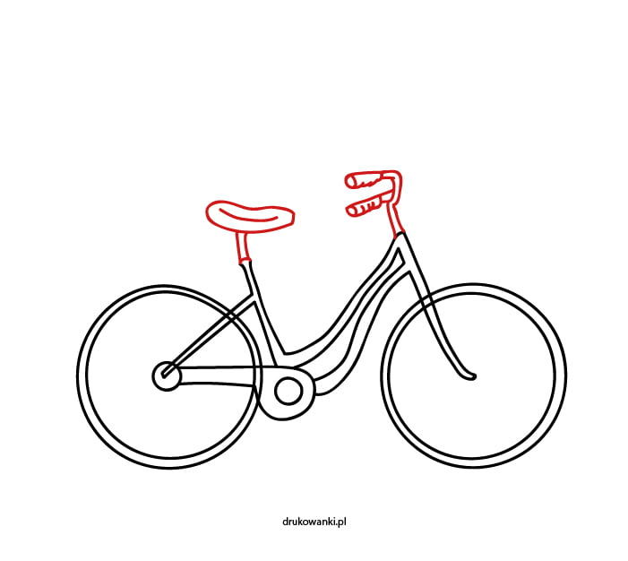 rowerek rysunek