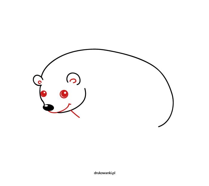 jeżyk rysunek dla dzieci