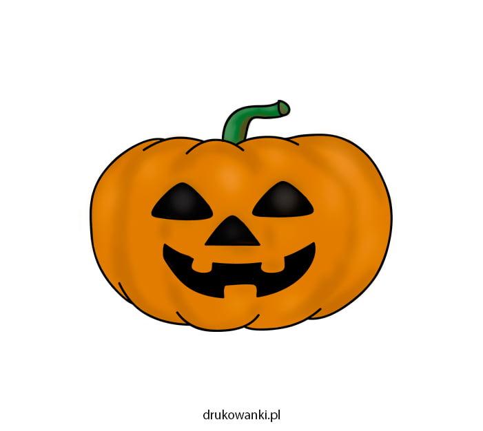 kolorowa dynia na halloween