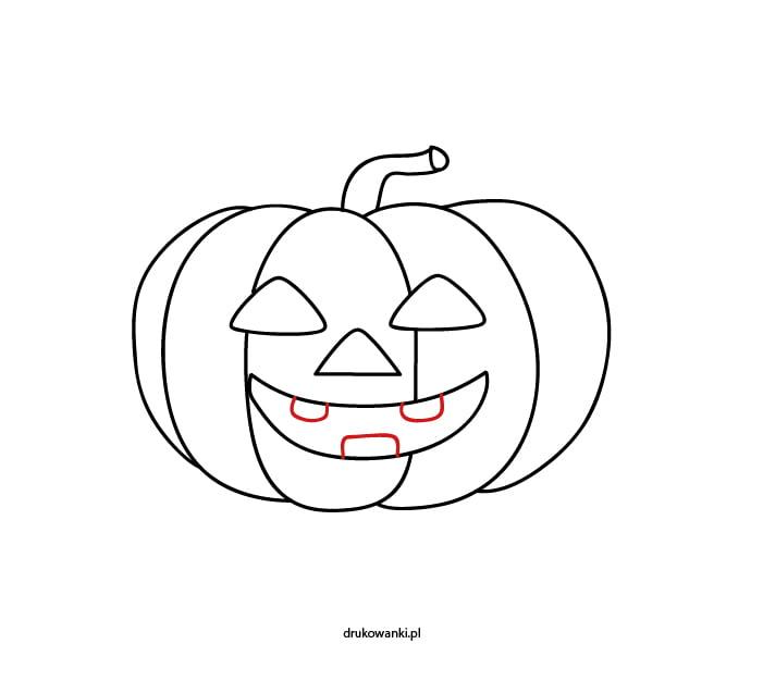 rysunek na halloween dla dzieci