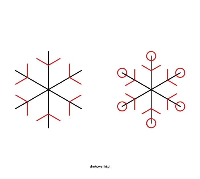 jak narysować śnieg