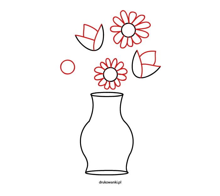 wiosenne kwiatki w wazonie