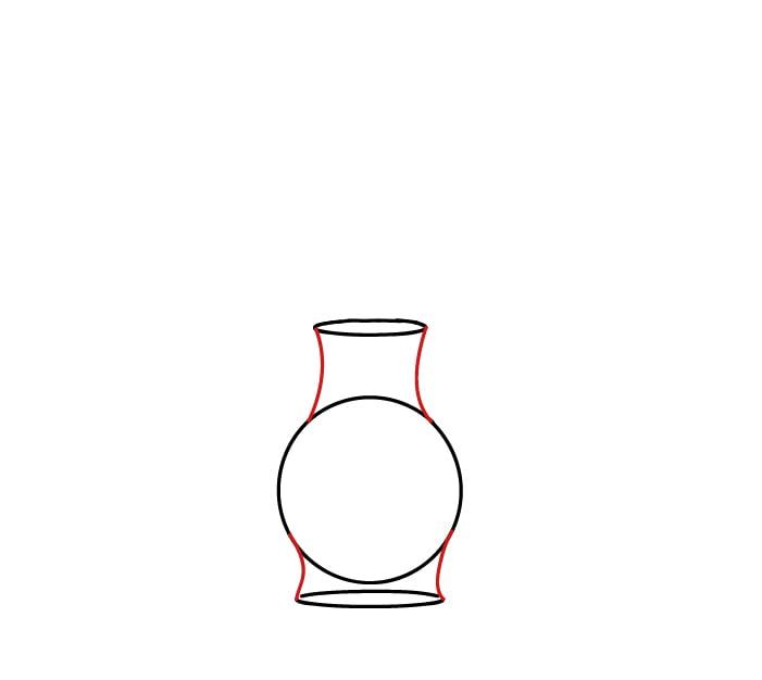 wazon jak namalować