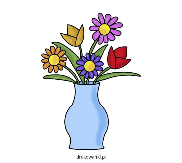 kolorowe kwiaty wiosenne