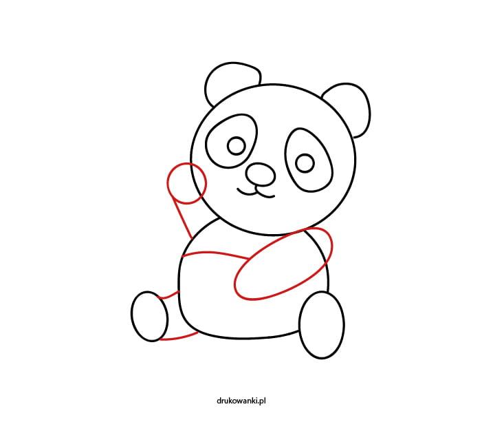 jak namalować pandę