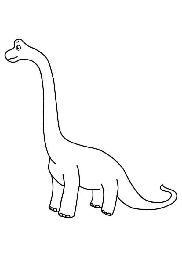 kolorowanki dinozaurów dla dzieci