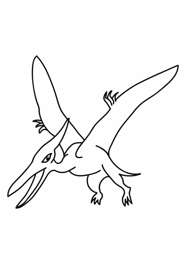 pterodaktyl obrazek dinozaura