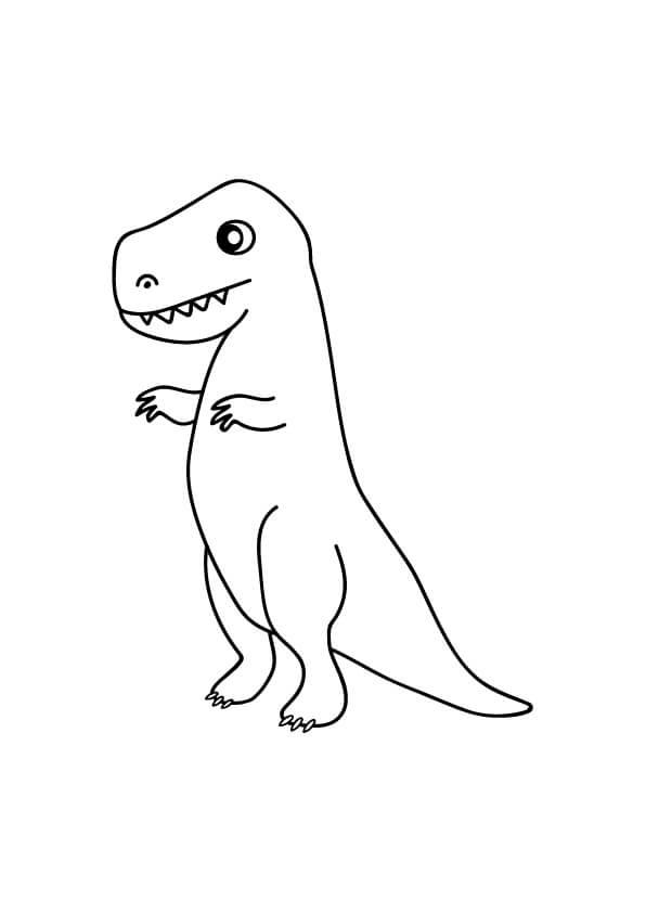 kolorowanki dinozaurów do druku