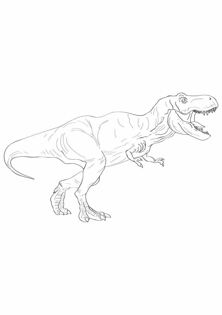 obrazek tyranozaura