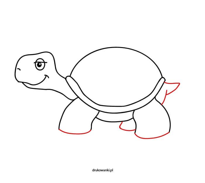instrukcja krok po kroku żółw