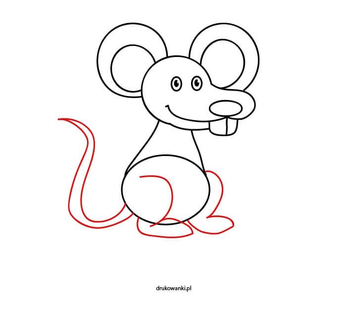 instrukcja jak narysować mysz