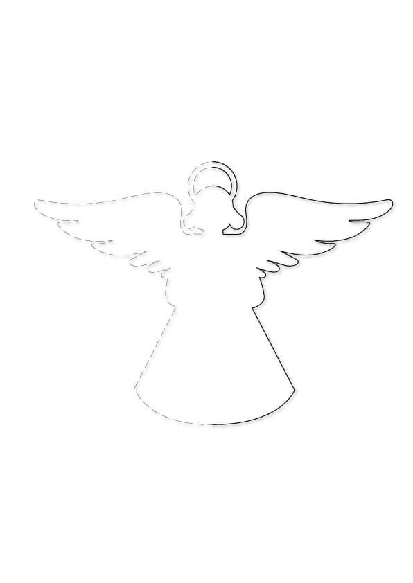grafomotoryka aniołek